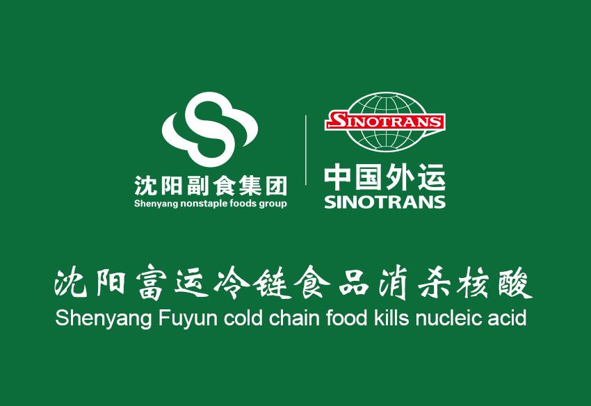 沈阳副食集团冷链食品消杀核酸流程